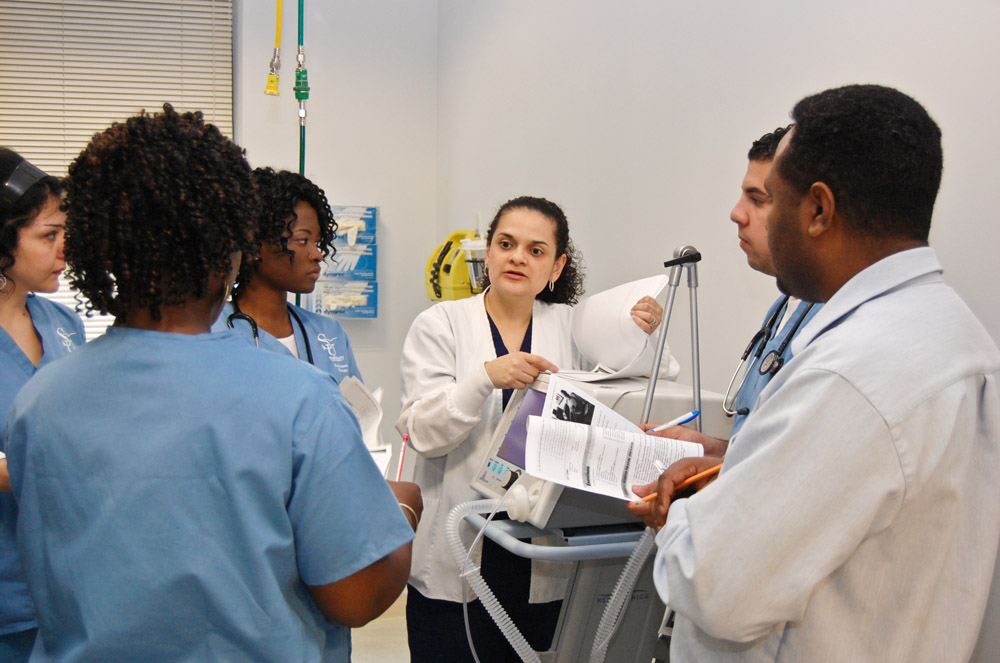 usg s first graduating class in respiratory therapy prepares to help community breath easier