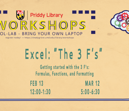 Excel - Formulas/Functions Workshop