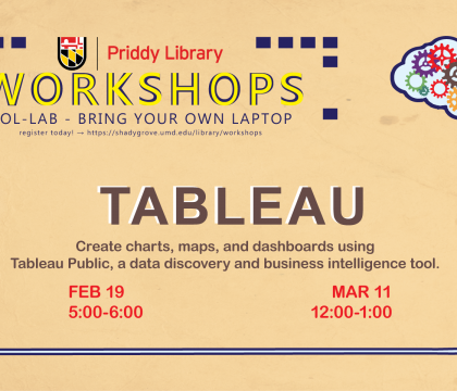 Visualizing Data with Tableau Workshop