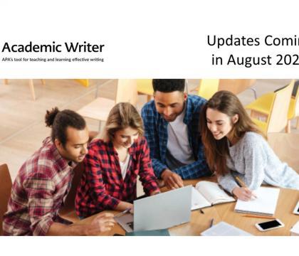 Academic Writer Updates