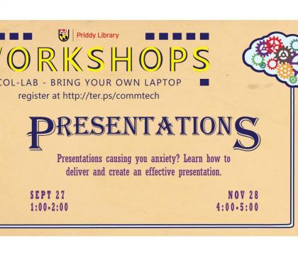 Presentations Workshop