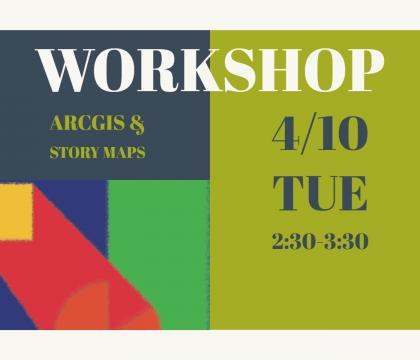 ArcGIS and Story Maps Workshop