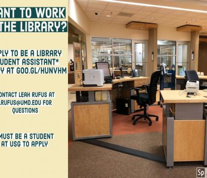 Library student assistant