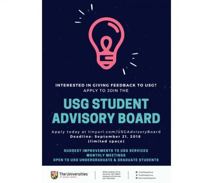 USG Student Advisory Board