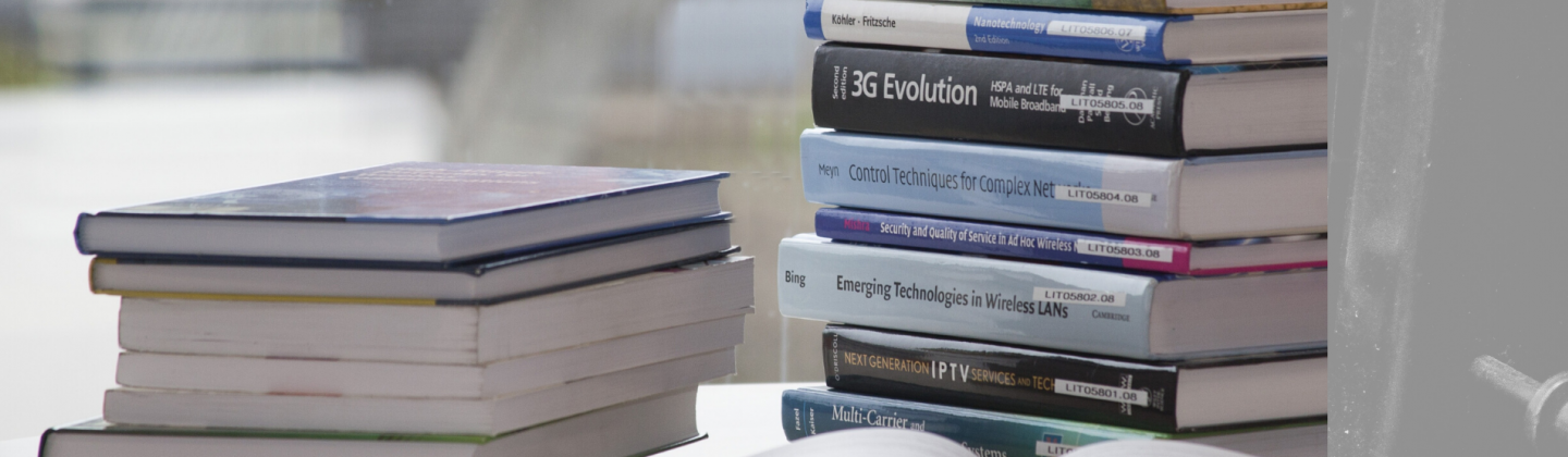 Picture of textbooks