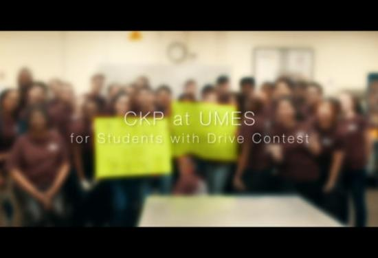 CKP at UMES Students with Drive