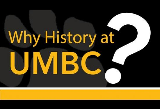 Why History at UMBC Shady Grove?