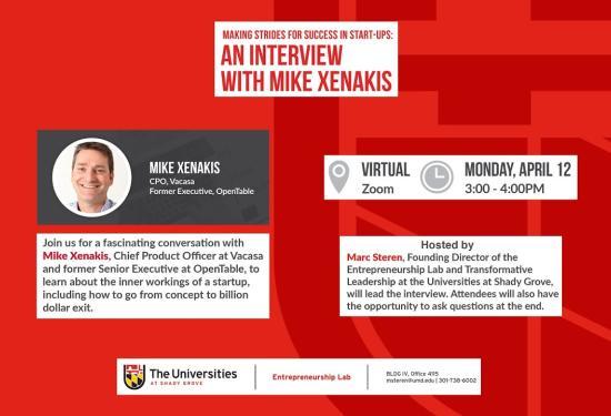 Mike Xenakis Interview