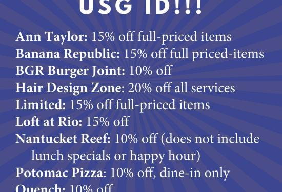 USG ID Discounts