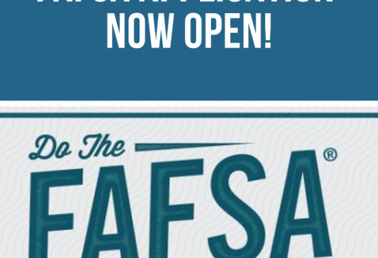 FAFSA is open!