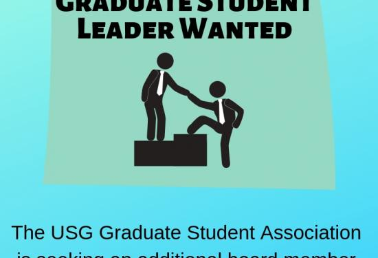 Graduate Student Leader Wanted