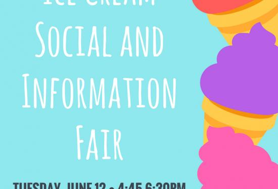 Ice Cream Social and Information Fair
