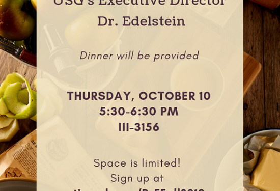 Meal and Conversation with Dr. E