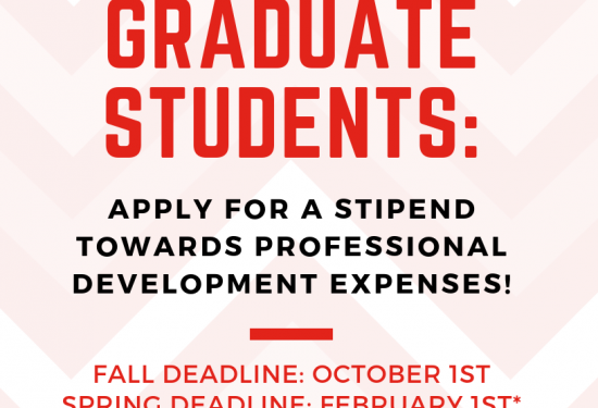 Professional Development Stipend Awards