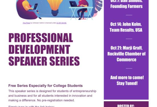 Montgomery College Speaker Events