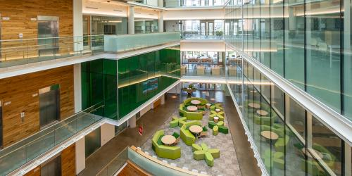 BSE building interior